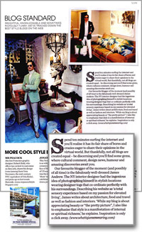 WIJW in Elle Decoration 2009