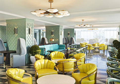 The Club 50 Lounge.