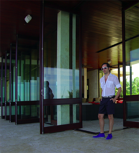 James Andrew at the Casa Doors