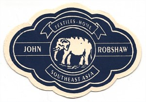 We love Robshaw's business card!