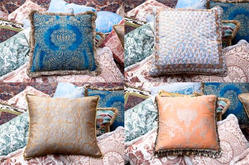 Pillows at David Duncan Antiques.