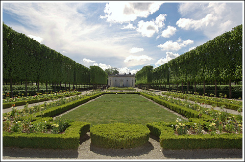 The grounds of the Petit Trianon.