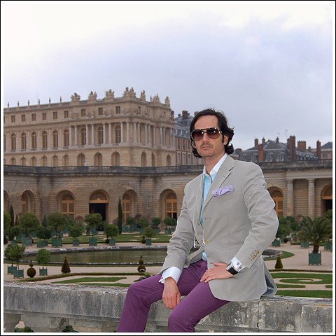 James Andrew at Versailles