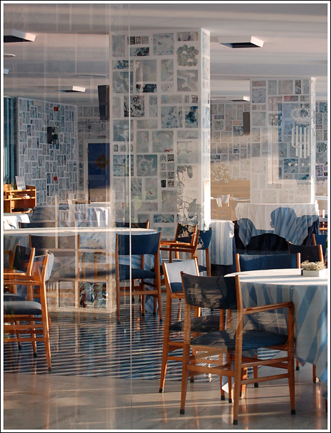 Gio Ponti restaurant.