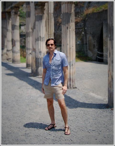 James Andrew at Herculaneum.