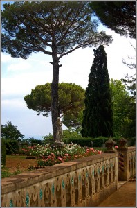Gardens at VIlla Cimbrone.