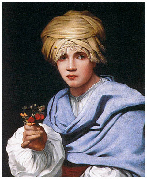 Michiel Sweerts painting, Boy with Turban