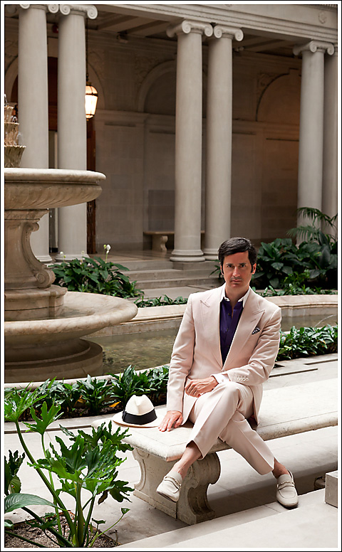 James Andrew at The Frick Collection. photo Lars Stephan.