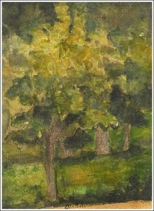 "Paul Cezanne ""Arbres,"" 1798"