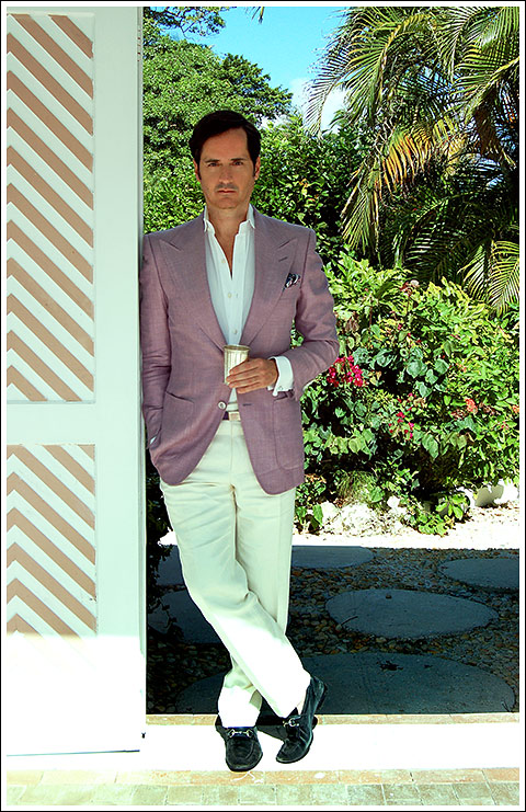 James Andrew at Lyford Cay