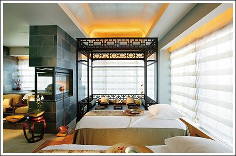 The Vip Room at the Mandarine Oriental Spa