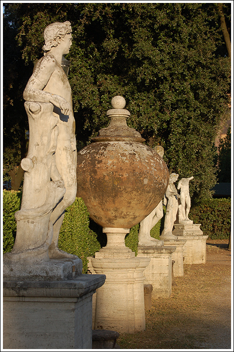 Villa Borghese grounds