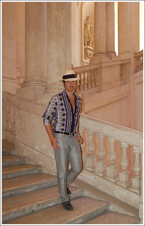 James Andrew—Palazzo Barberini, Rome.