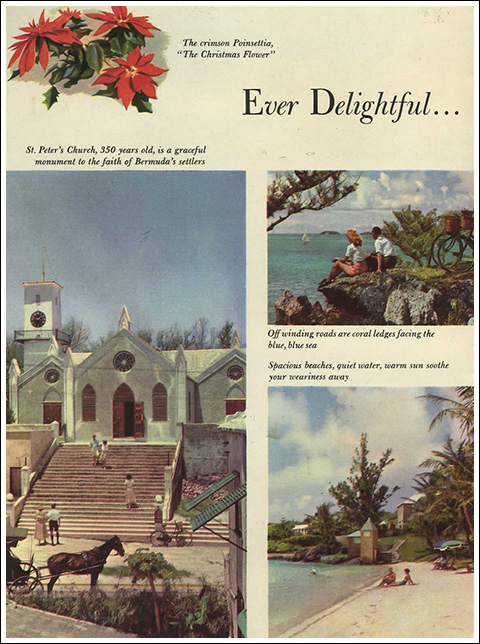 Ever Delightful - Vintage Travel Brochure