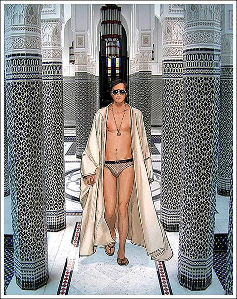 James Andrew Moroccan fantasy by Scott McBee