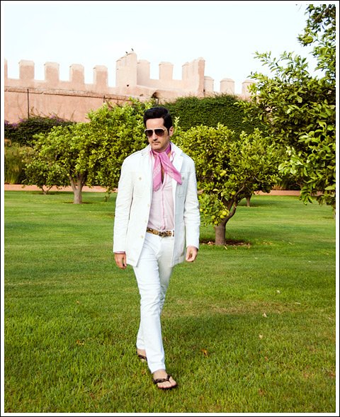 James Andrew - La Mamounia Royal Gardens - photo Gabriel Everett