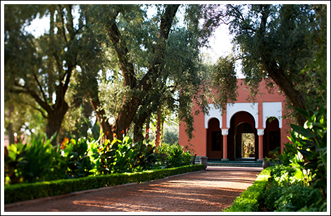 Garden Pavillion at La Mamounia