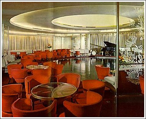 First class ballroom and lounge