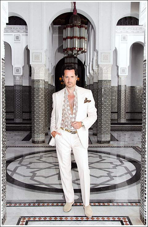 James Andrew at La Mamounia