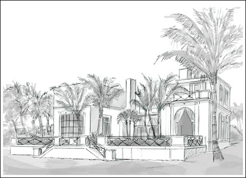 Maurice Fatio's 'Villa Today' in Palm Beach