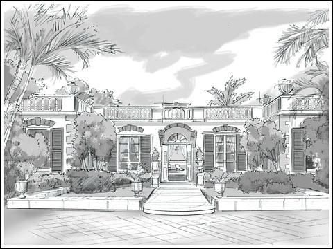 Oliver Messel's 'Leamington Pavilion' in Barbados