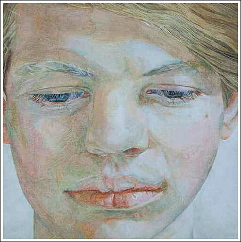 Portrait of Garech Browne by Lucian Freud