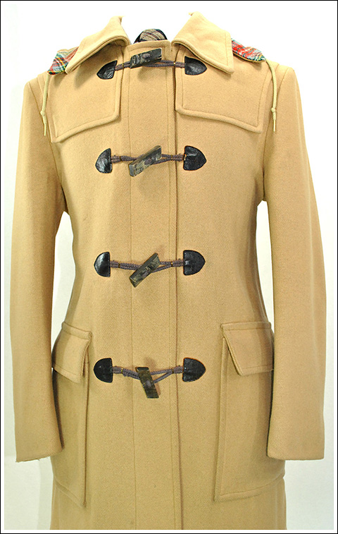 "Vintage ""Zero King"" toggle coat"