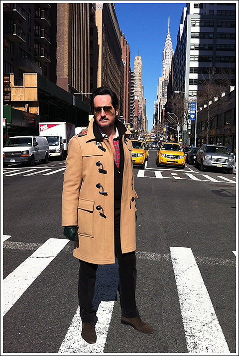 "James Andrew - vintage ""Zero King"" toggle coat. Photo Nick Turner"