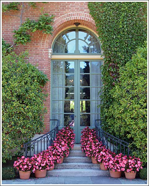 Filoli rear facade detail