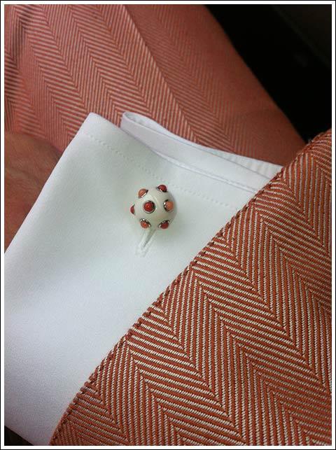 My Seaman Schepps cufflinks.