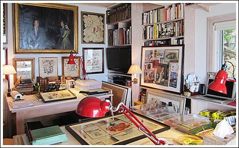 Jean-Charles de Ravenel's Lyford studio