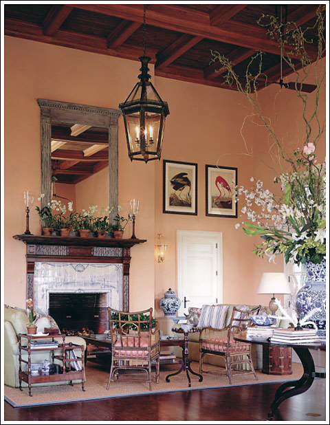 James Andrew interior, Marsh Island Club in Vero Beach
