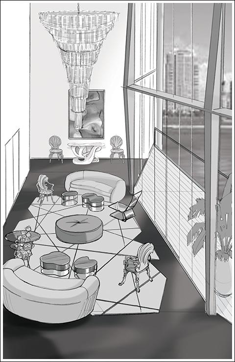 Zaha Hadid 1000 Museum Penthouse