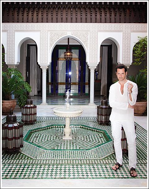 James Andrew, La Mamounia, Marrakesh