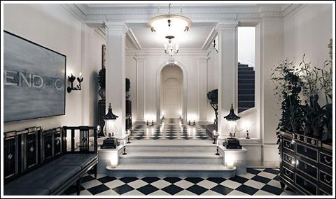 Slatkin foyer