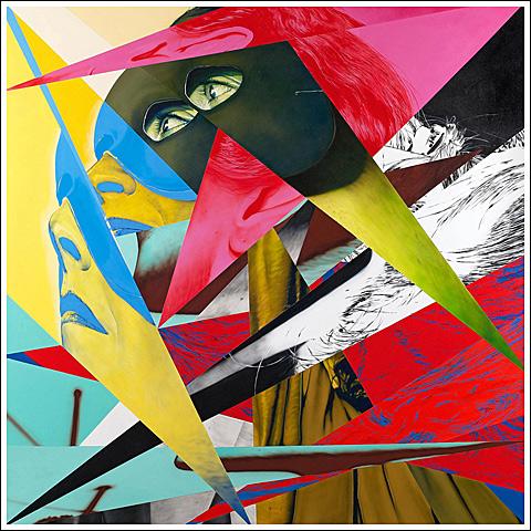 Victor Rodriguez - Broken Glass Mask