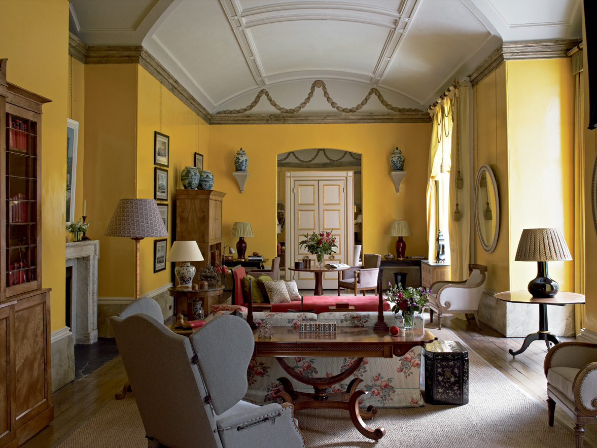 The Yellow Room Nancy Lancaster