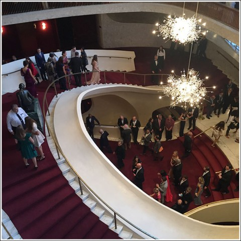 Opening night at the MET