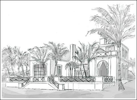 "Maurice Fatio's ""Villa Today,"" Palm Beach"