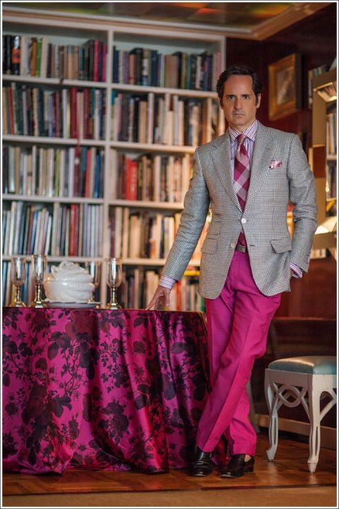 James Andrew - D'Ascoli & Company textile