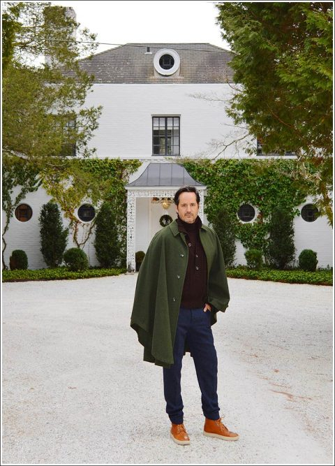 James Andrew – a wonderful weekend with the chicest of friends in Connecticut.
