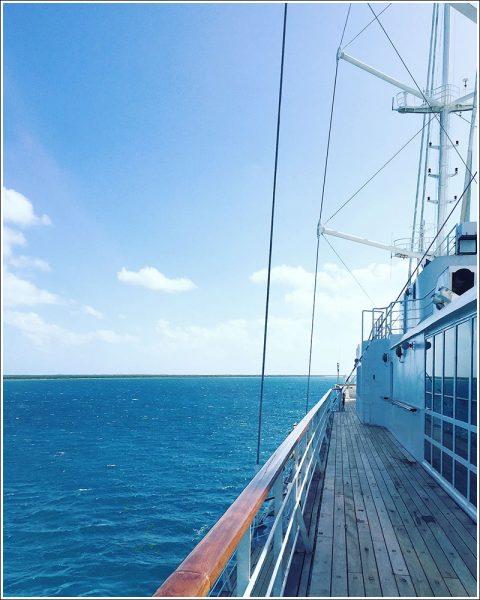 Aboard Windsurf.