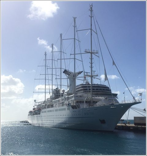 The Windstar line's Windsurf.