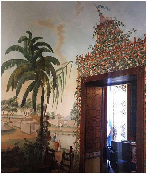 Palazzo Cinese interior detail