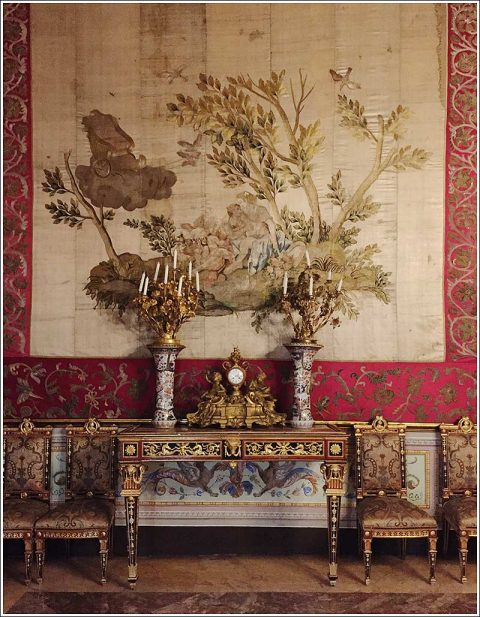 Palazzo Mirto – interior detail