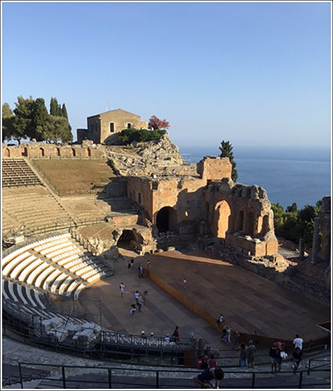 Greek theater near Taormina