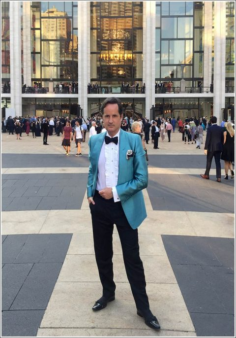 James Andrew at the MET Opera opening gala